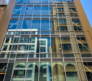 Tall Building with Many Glass Windows