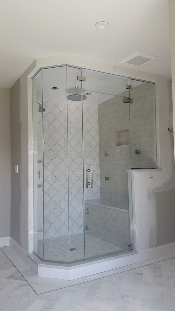 Walk-in Shower with Seating Ledge