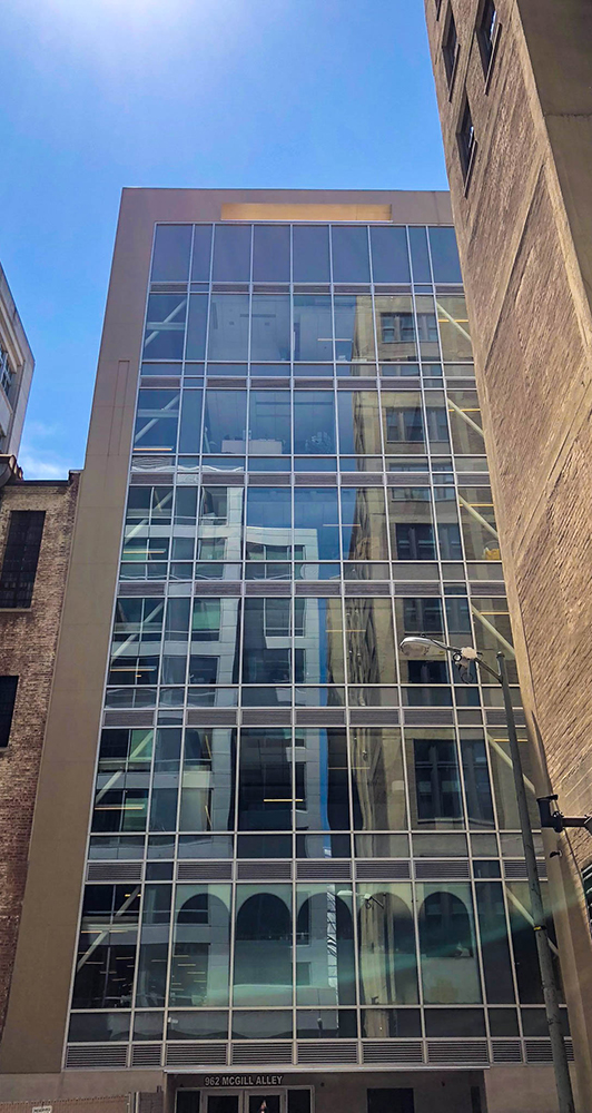 915 F Street NW - Large Glass Building