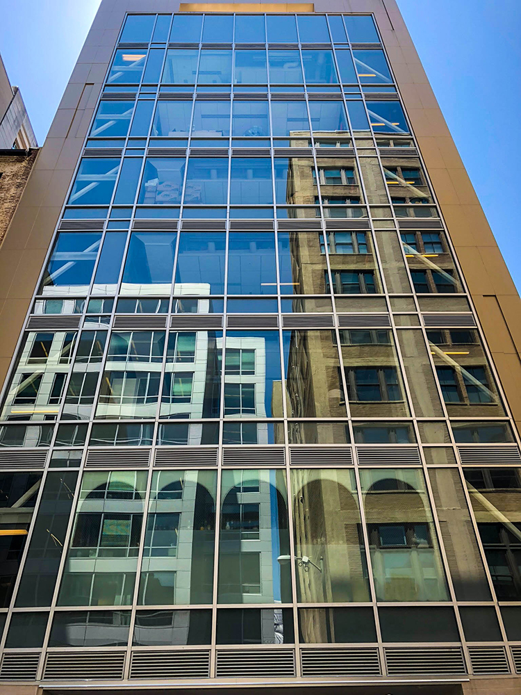 915 F Street NW - Framed Glass Windows