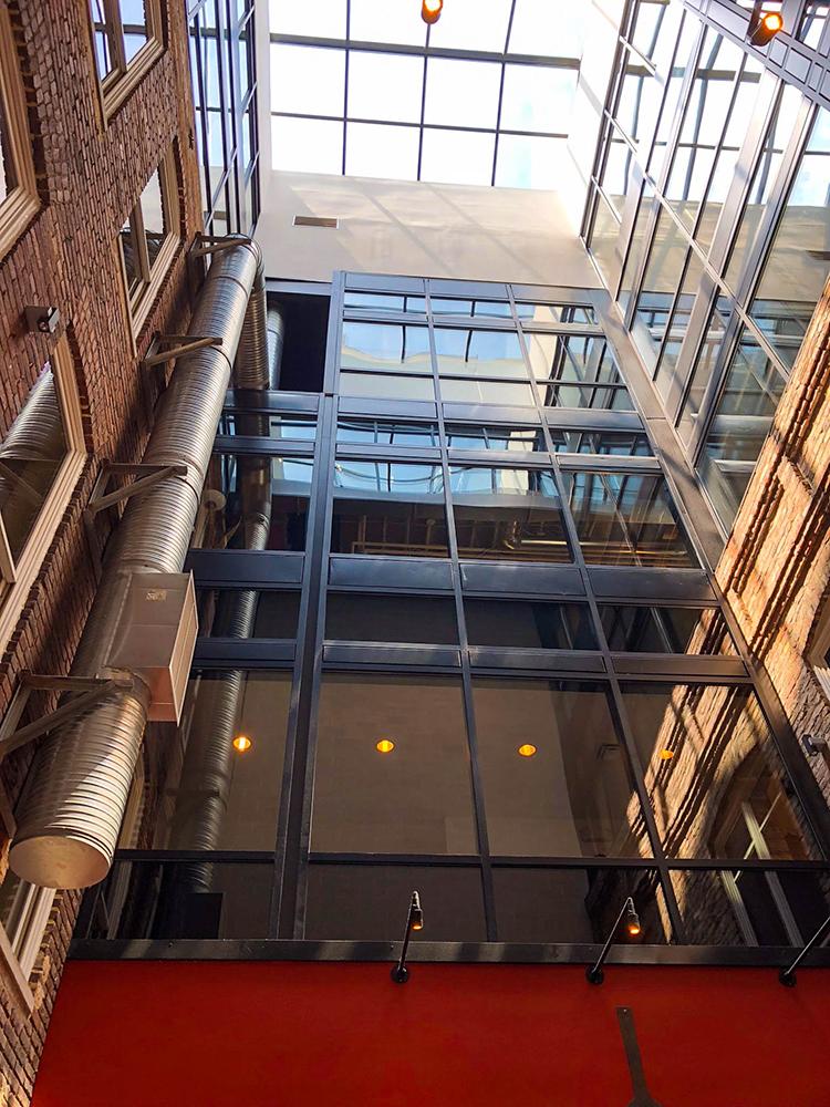 Arch Square - Interior Glass