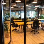 WeWorks - Wonderbread - office with multiple tables