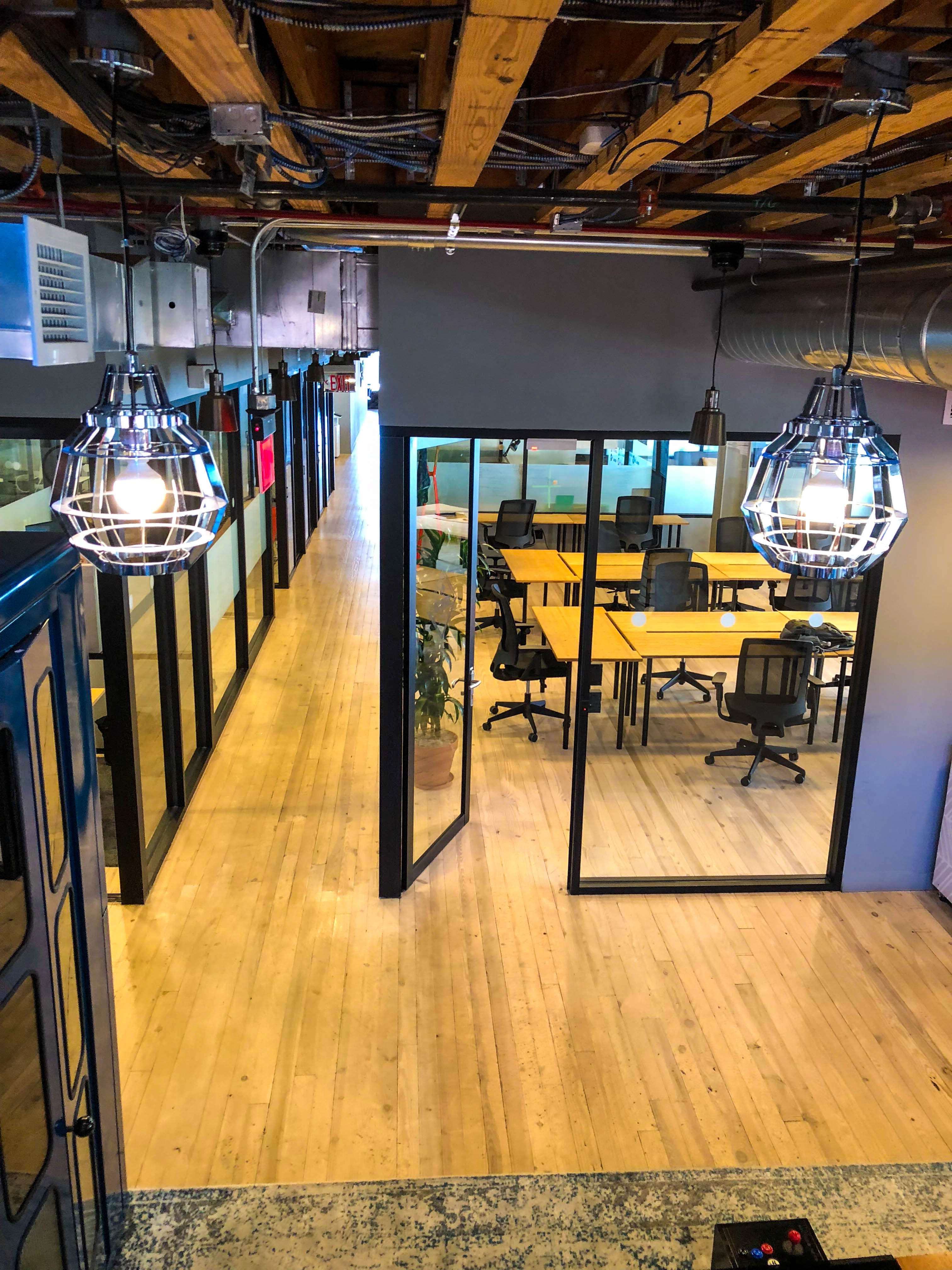 WeWorks - Wonderbread - view from upstairs