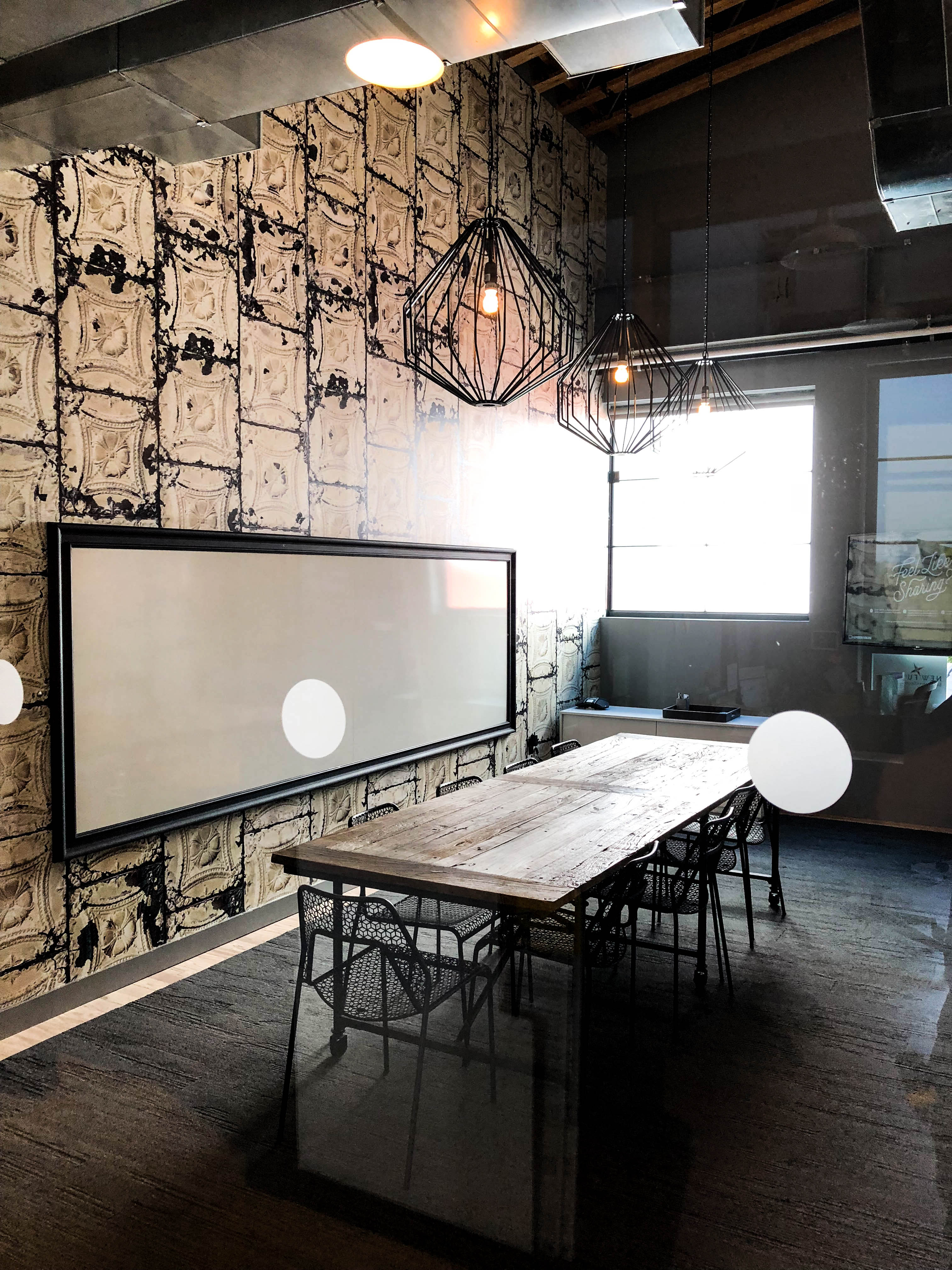 WeWorks - Wonderbread - conference room table