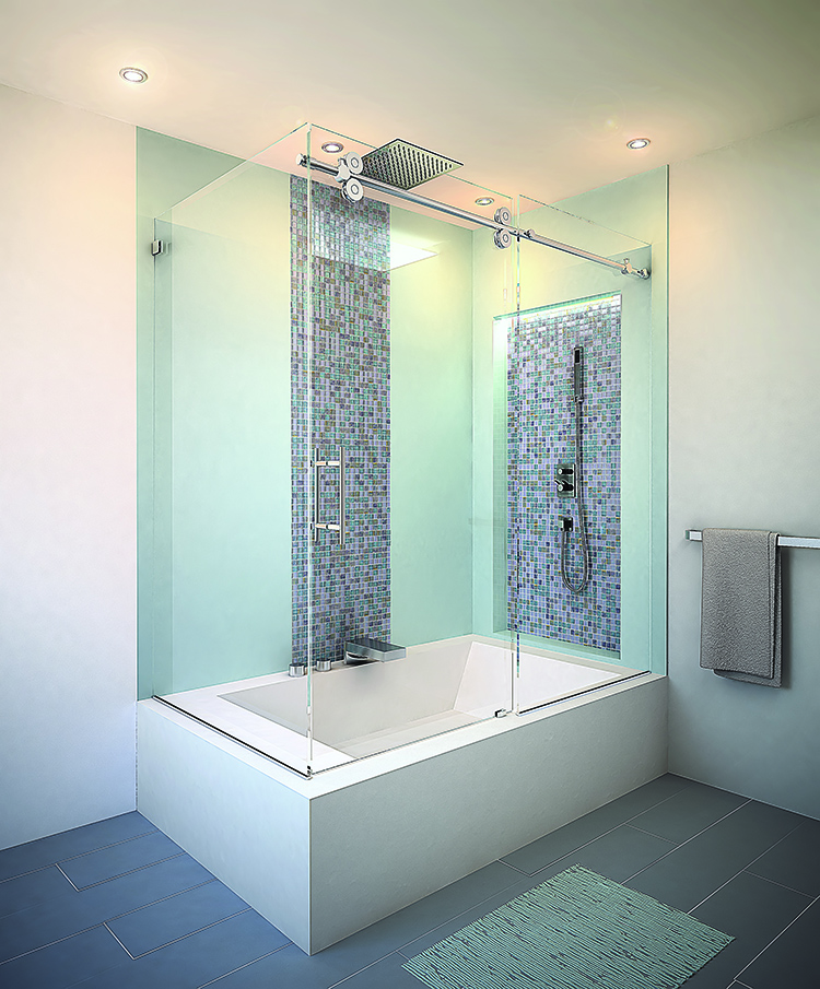 Glass Shower & Tub Frame