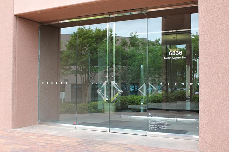 6836 Austin Centre Blvd. - Triangle Door Handles