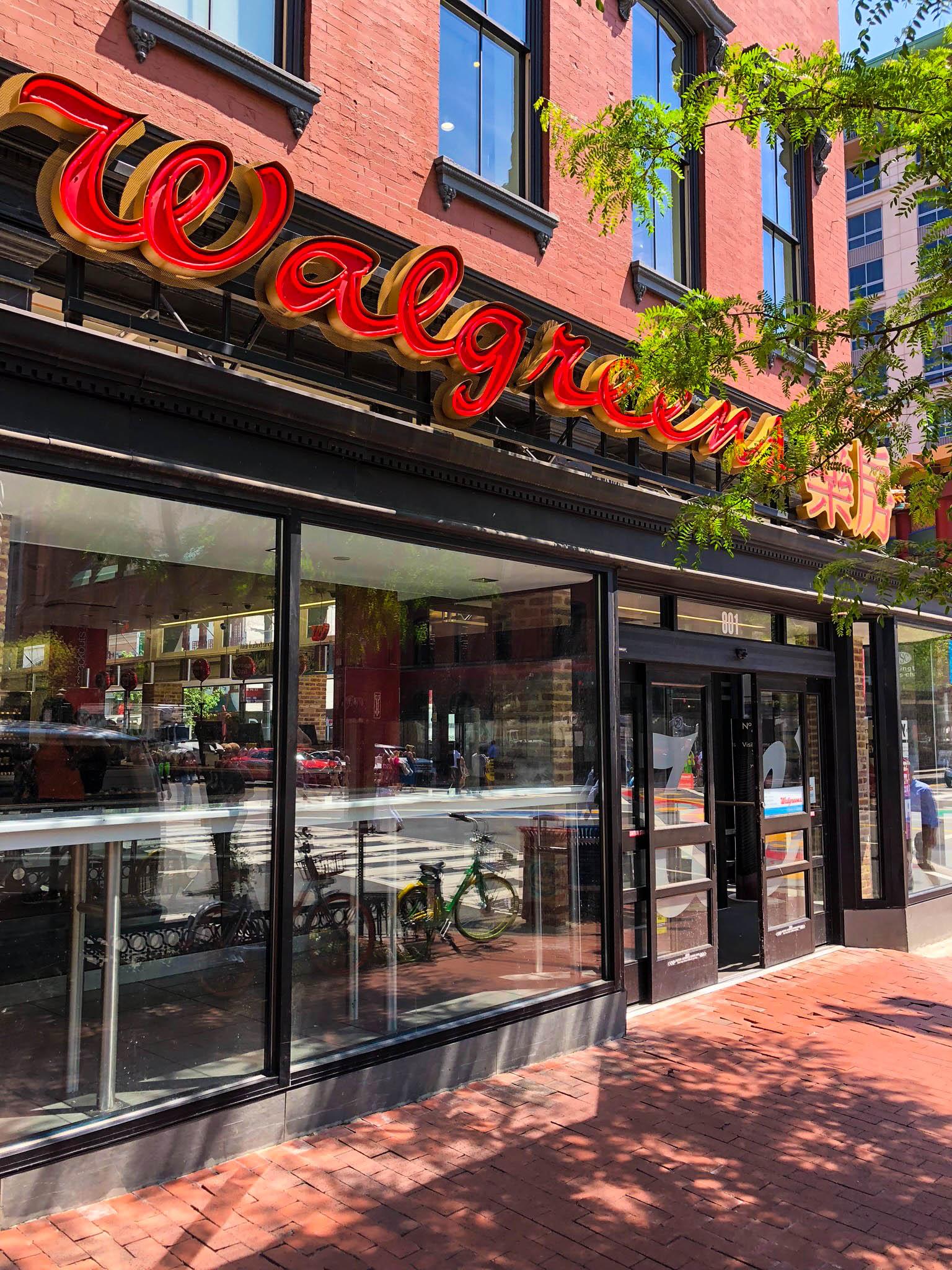 Walgreens - front door