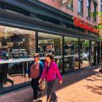 Walgreens - front door and windows