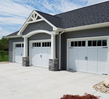Overlay Carriage House Doors