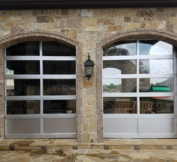 Full-View Aluminum Doors